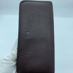 Authentic Loewe zippy long wallet